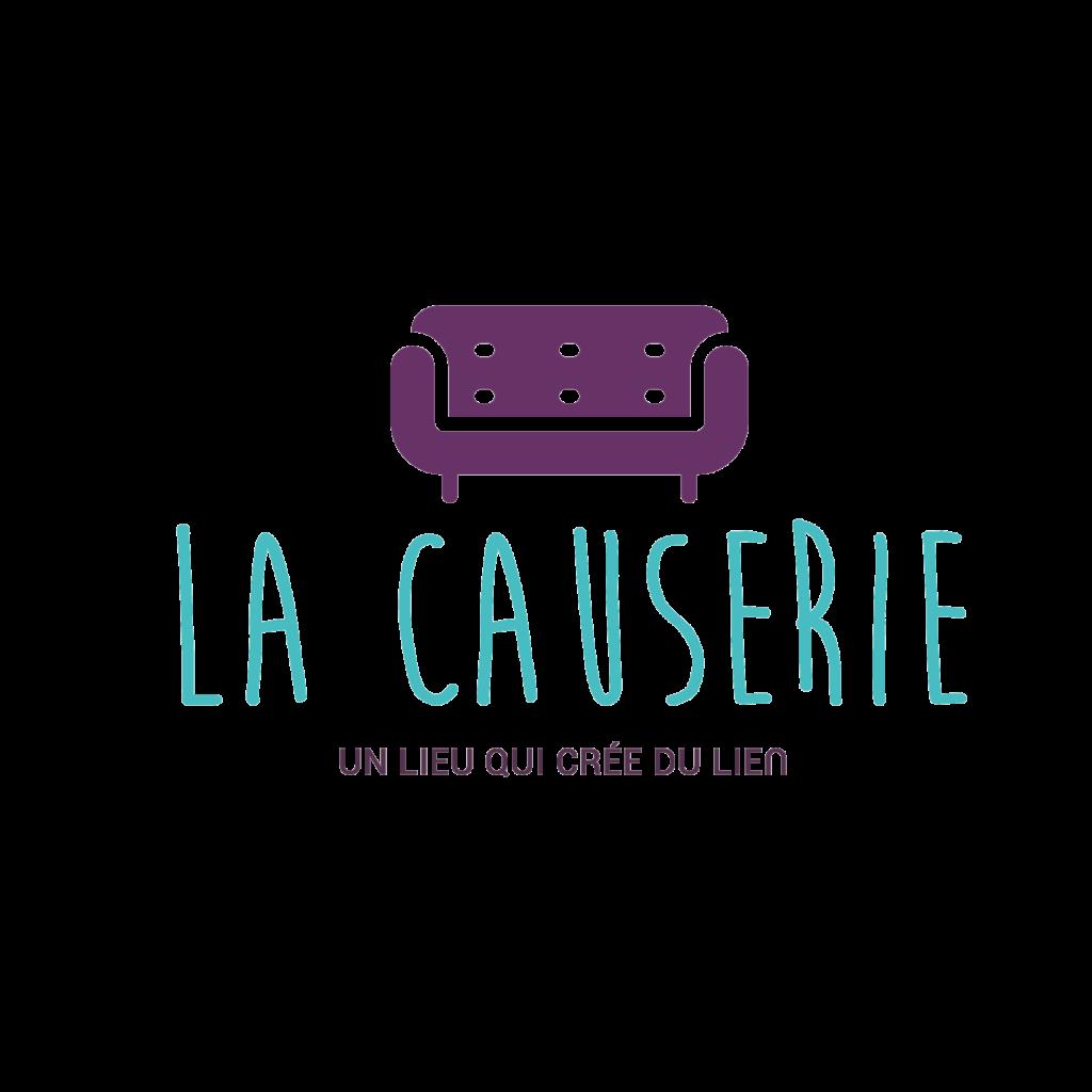 Logo de marque la causerie